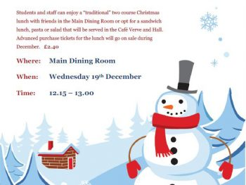 19th December Christmas Lunch
