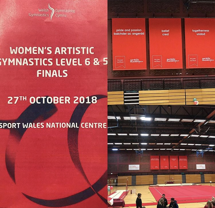 Welsh National Finals – Gymnastics